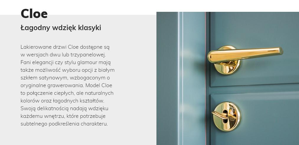 Oposy produktów dla sklepu internetowego - drzwi drewniane