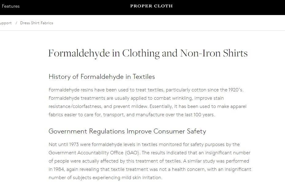 Firmowy blog marki odzieżowej Propercloth